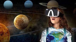 Professor Maxwell's VR Universe