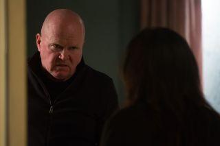 EastEnders Phil Mitchell intimidates Kat