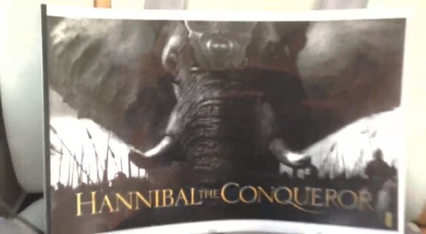 Hannibal the Conqueror title treatment