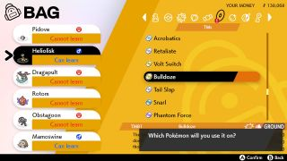 Pokemon Sword and Shield TM locations