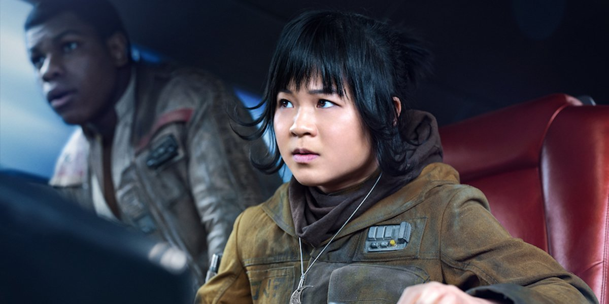 Kelly Marie Tran in Star Wars: The Last Jedi