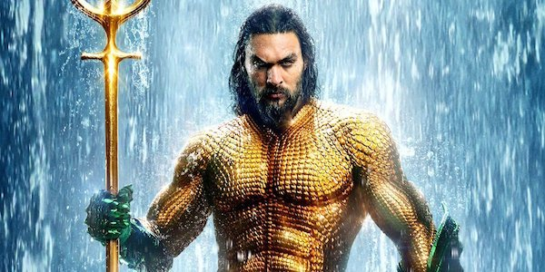 Aquaman in his classic costume