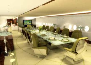 Airbus A380 VIP 'Flying Palace' Interior Design Unveiled