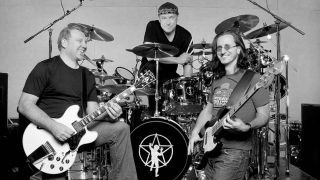 Rush: Alex Lifeson, Neil Peart and Geddy Lee