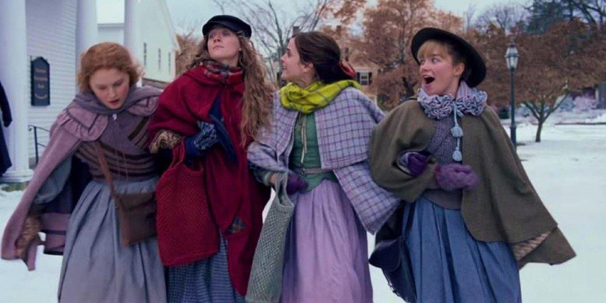 Eliza Scanlen, Saoirse Ronan, Emma Watson, Florence Pugh - Little Women (2019)