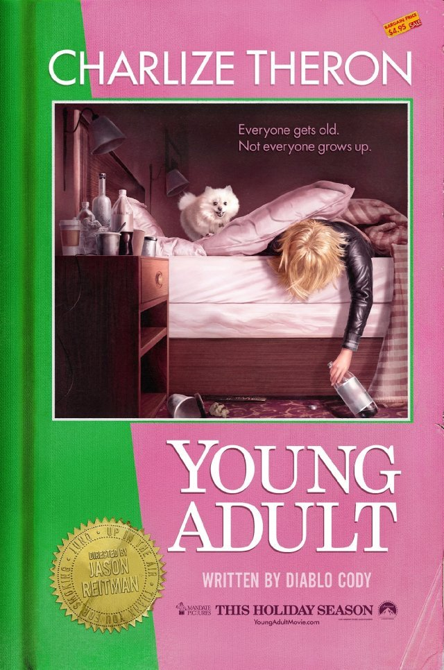 Charlize Theron Looks Upset In New Poster For Young Adult #5288