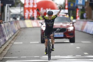 Mitchelton-Scott's Grace Brown wins the 2020 Brabantse Pijl