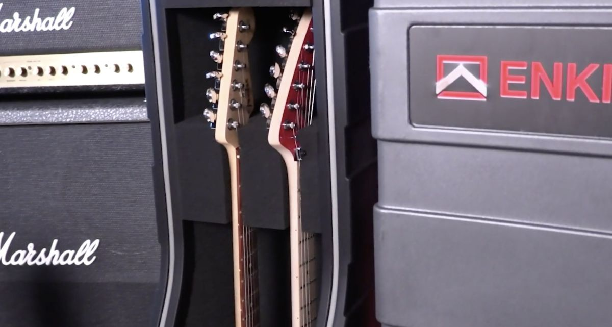 Give your guitars the comprehensive protection they deserve with ENKI USA cases