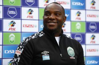 Benni McCarthy head coach of AmaZulu