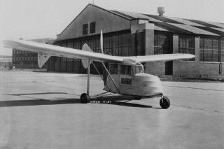 space history, homebuilt aircraft, NACA, landing gear