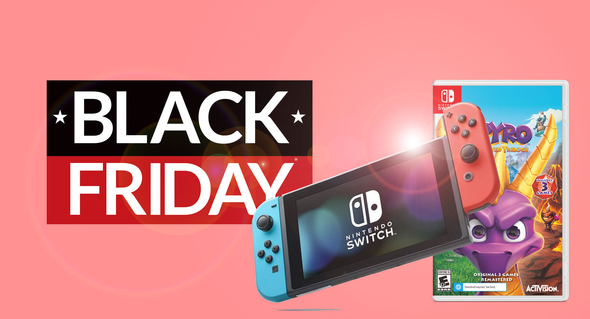 Red Hot Nintendo Switch Black Friday Deal From Walmart Gives