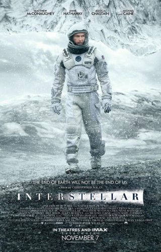 'Interstellar' Theatrical Poster 2