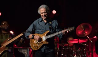 John McLaughlin performs live in Seattle in 2017
