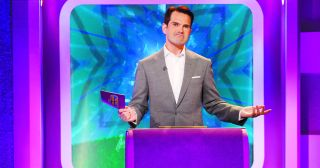 Jimmy Carr returns to host a new three-part series of the quiz which, according to C4, is bigger, fatter and quizzier than ever