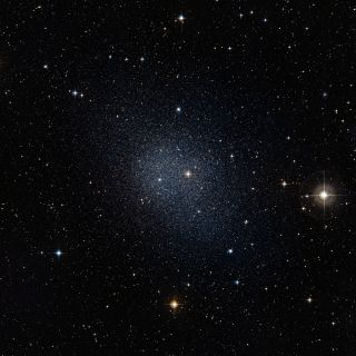Dwarf Spheroidal Galaxy in the Constellation Fornax