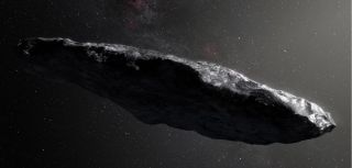 Researchers studying the interstellar object 'Oumuamua said that it might have an icy core concealed by a rocky, protective crust.