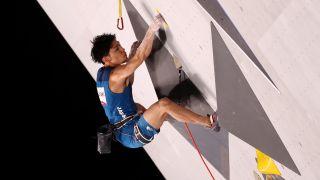 How to watch climbing at the Tokyo Olympics: Tomoa Narasaki of Japan during Sport Climbing