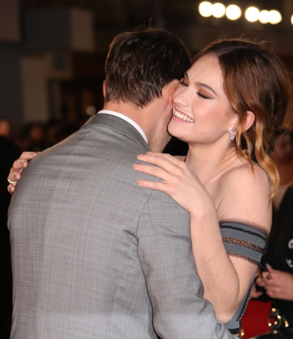 Lily James Matt Smith