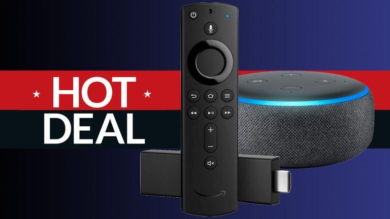 fire tv stick 4k echo dot 3rd gen deal