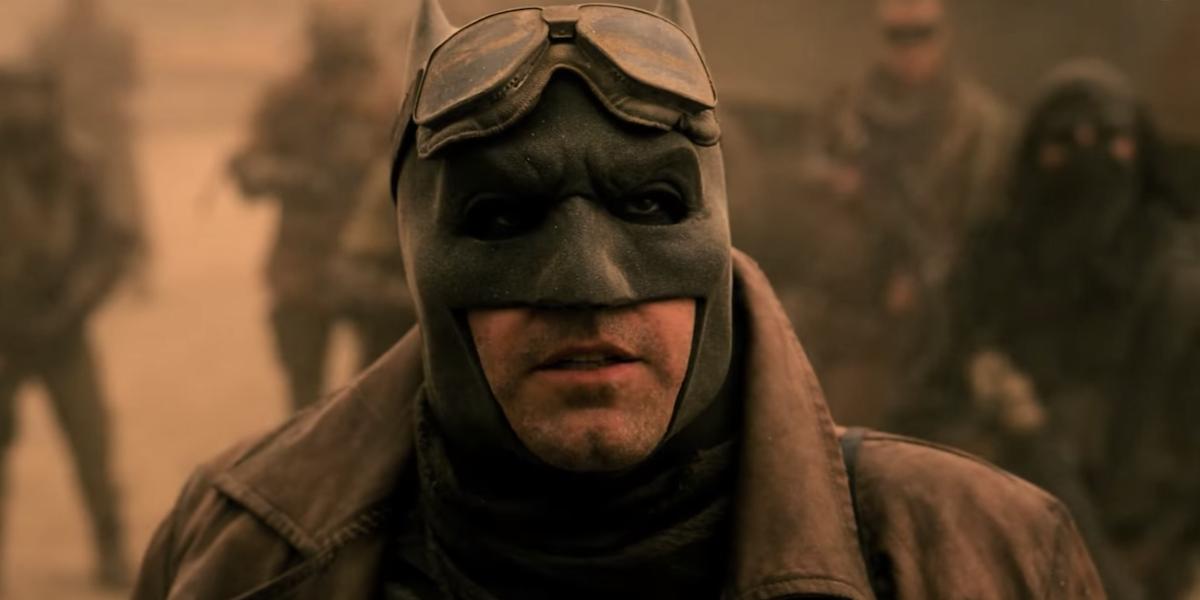 Batman in the Knightmare scene