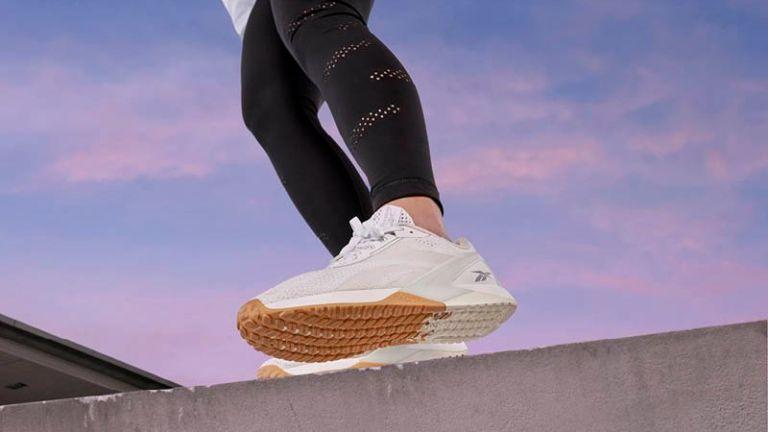 Woman wearing the Reebok Nano X1 training shoes