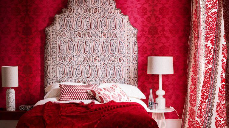 Red interiors micro trend