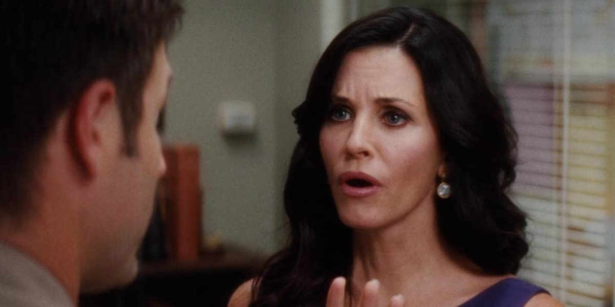 Gale Weathers in Scream 4 arguing with Dewey.