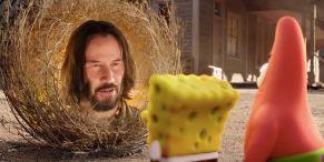 How Keanu Reeves Ended Up In SpongeBob: Sponge On The Run