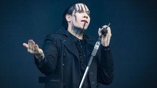 Marilyn Manson is forced to cut weekend Texas set short after collapsing onstage due to reported food poisoning