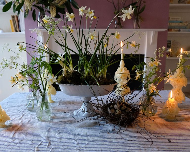 Easter flower arrangement