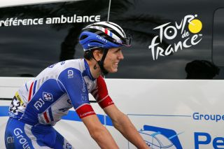 Groupama-FDJ's David Gaudu crashed on the opening stage of the 2020 Tour de France and then struggled through stage 2, but was left hopeful that his condition would improve