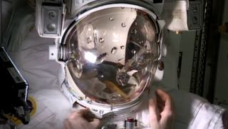 Spacesuit Helmet Water Leak Test