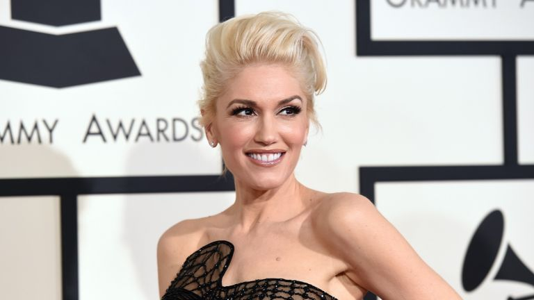Gwen Stefani poses for the camera
