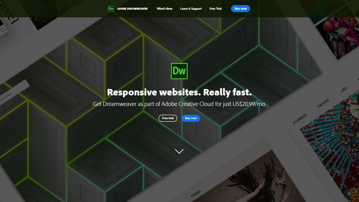 Adobe Dreamweaver Cc 2020 Web Design Suite Review Techradar