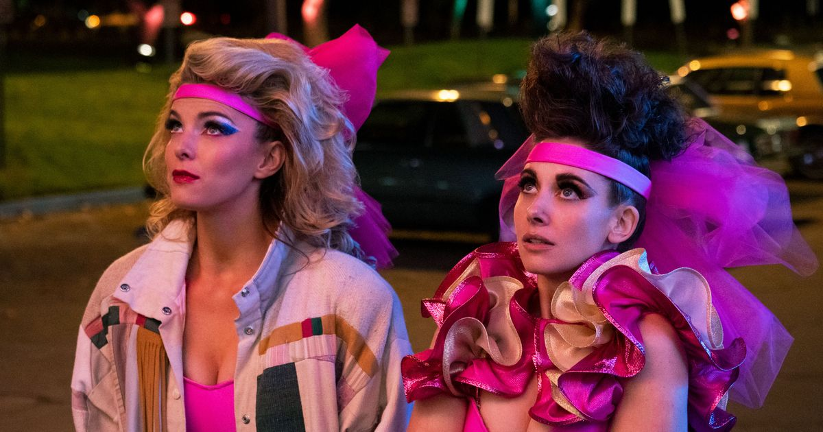 Some of the main characters of GLOW.