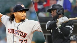 Luis Garcia and Luis Robert will face off in the Astros vs White Sox live stream