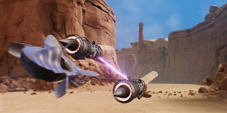 Star Wars Episode I: Racer has been recreated in Unreal