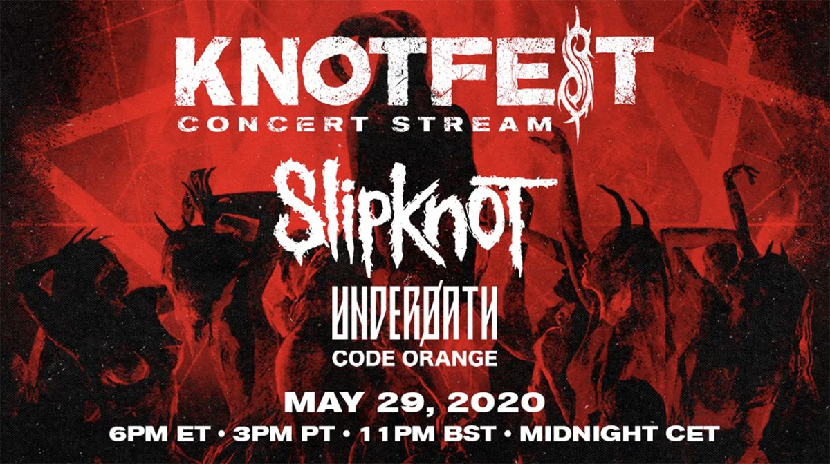 Slipknot announce Knotfest Roadshow streaming event
