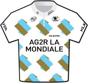 Ag2r La Mondiale jersey, 2010