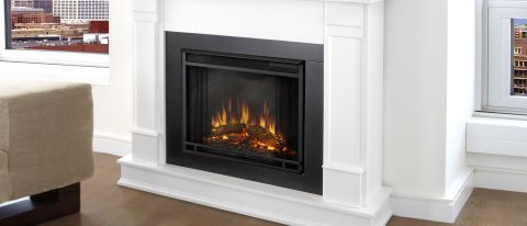 Silverton G8600E-W Electric Fireplace By Real Flame Review