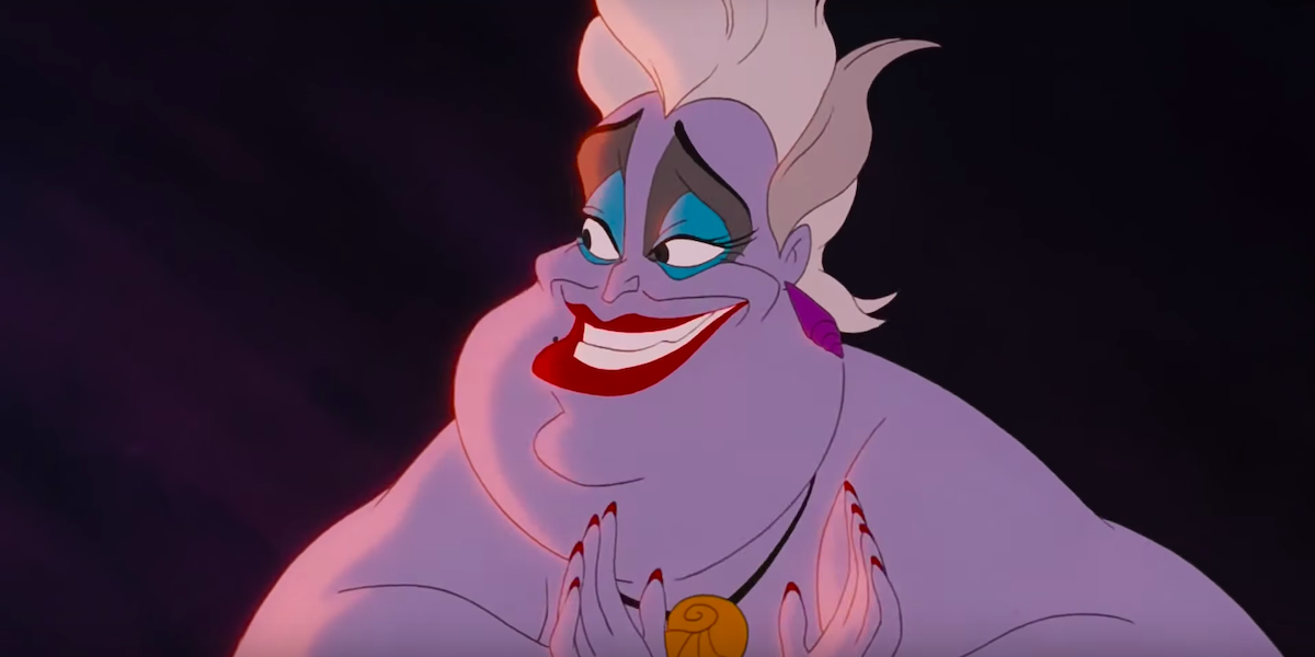 Ursula in Little Mermaid
