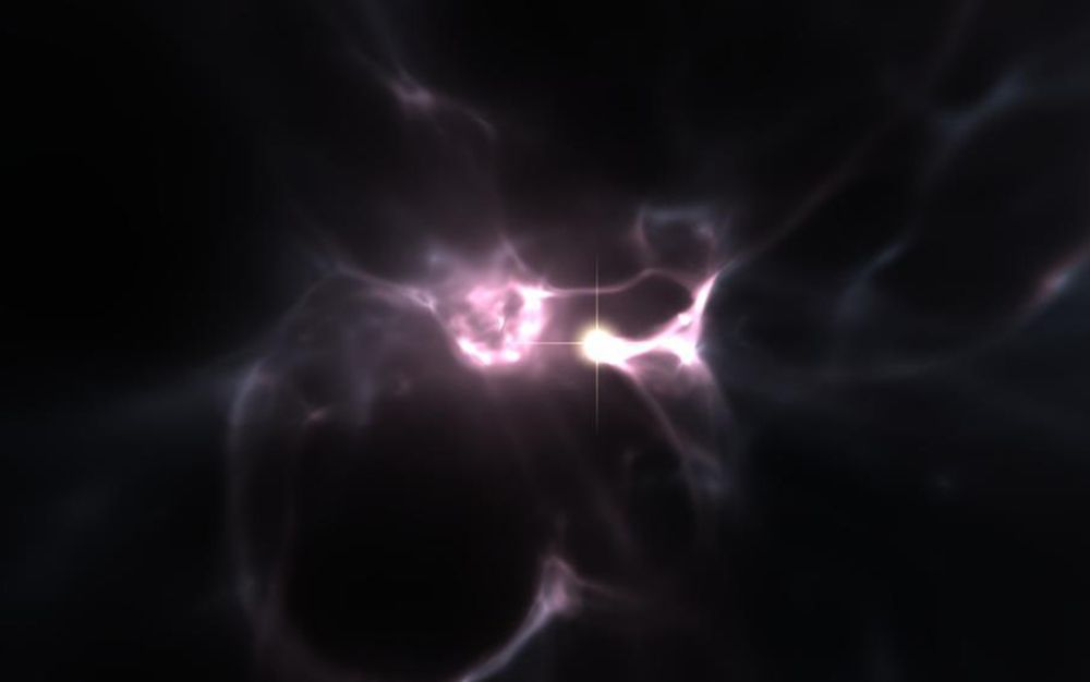 Bits of Corpse from One of the Universe's Oldest Stars Found Inside Its 'Child'