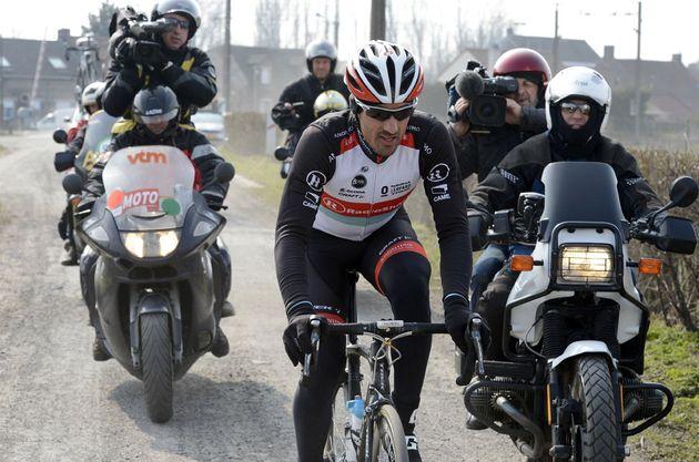 Fabian Cancellara, Paris-Roubaix training