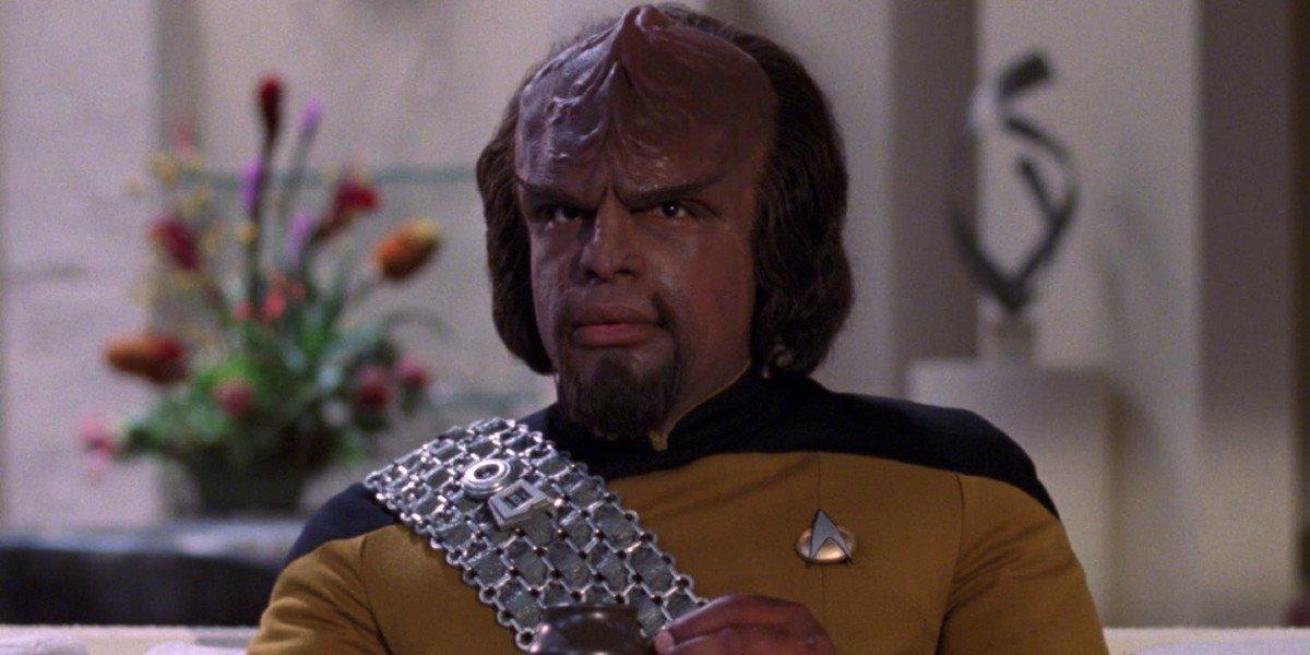 Michael Dorn as Worf Star Trek The Next Generation