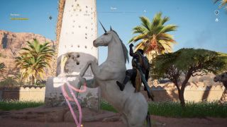 how to unlock the Assassin's Creed Origins unicorn