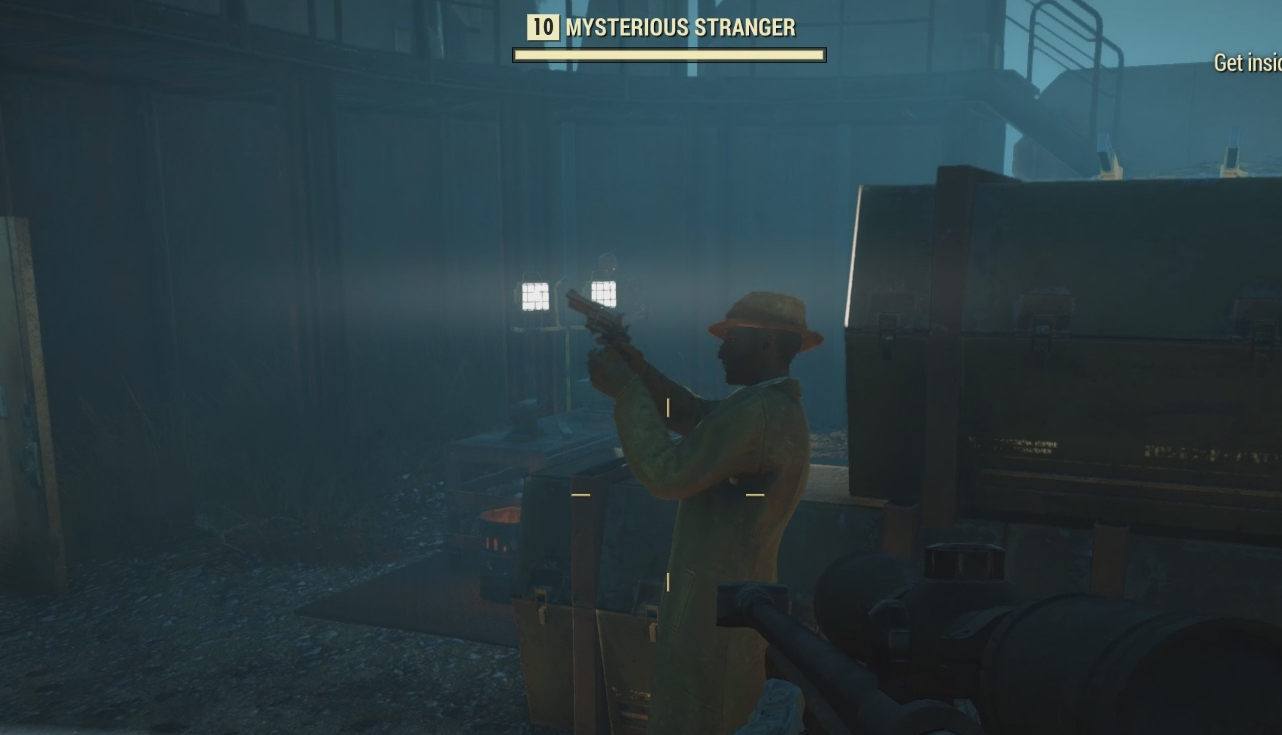 Fallout 76's VATS makes it tough for the Mysterious Stranger