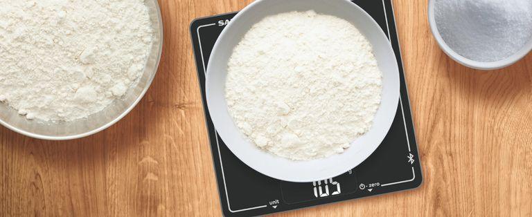 TikTok hack: kitchen scales
