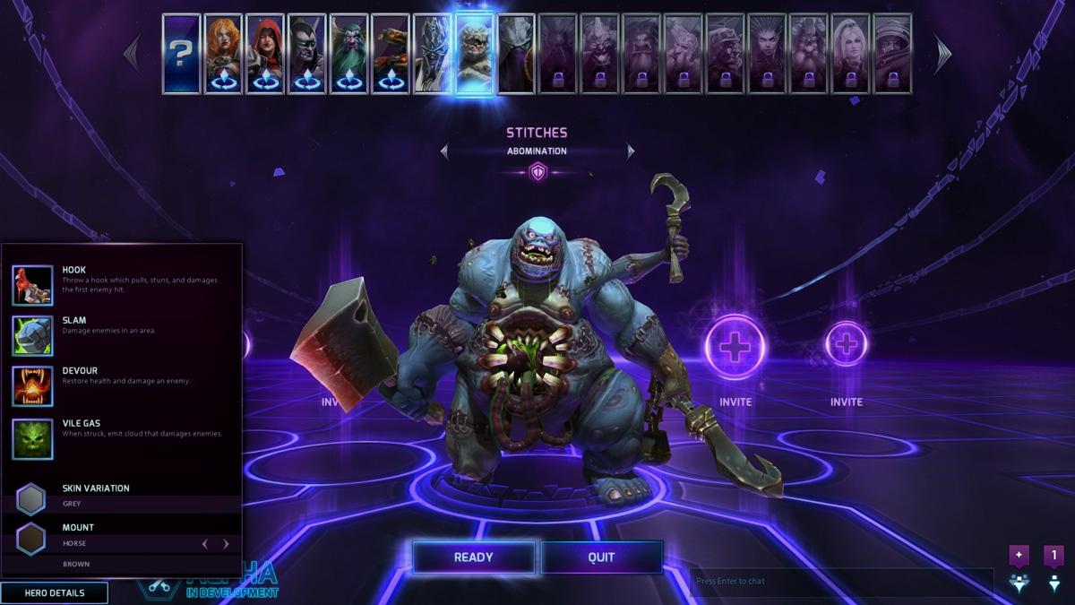 Heroes Of The Storm Alpha Test Begins, Progression System Revealed #30861