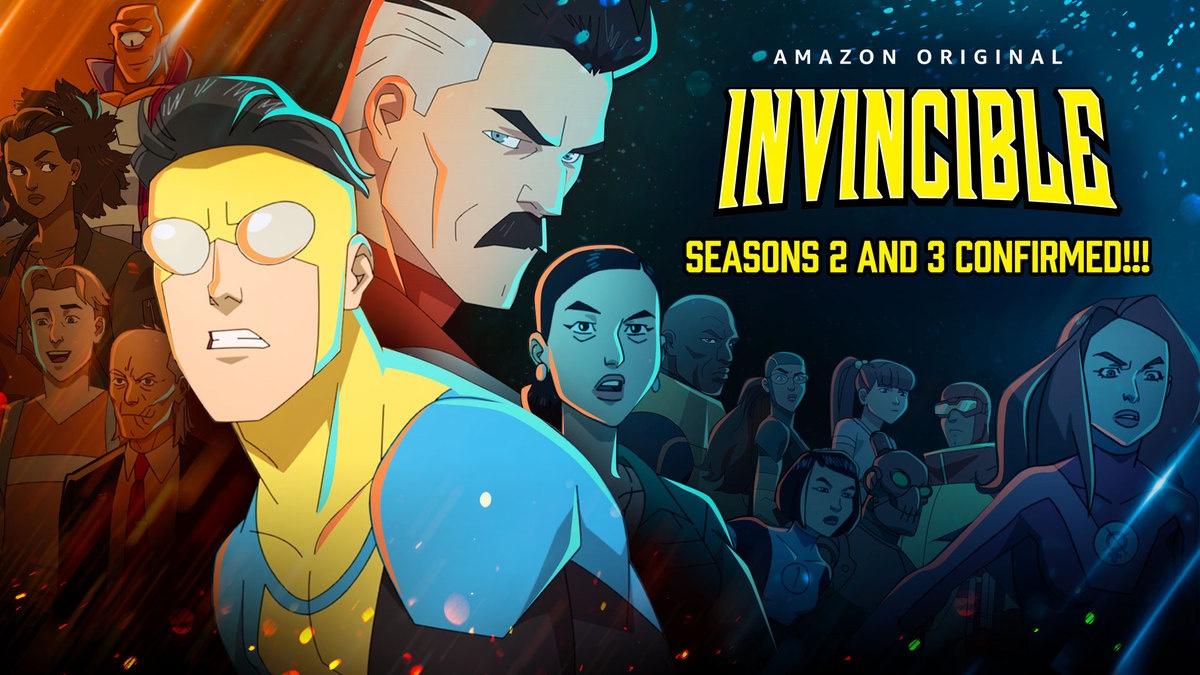 Invincible season 2 and 3