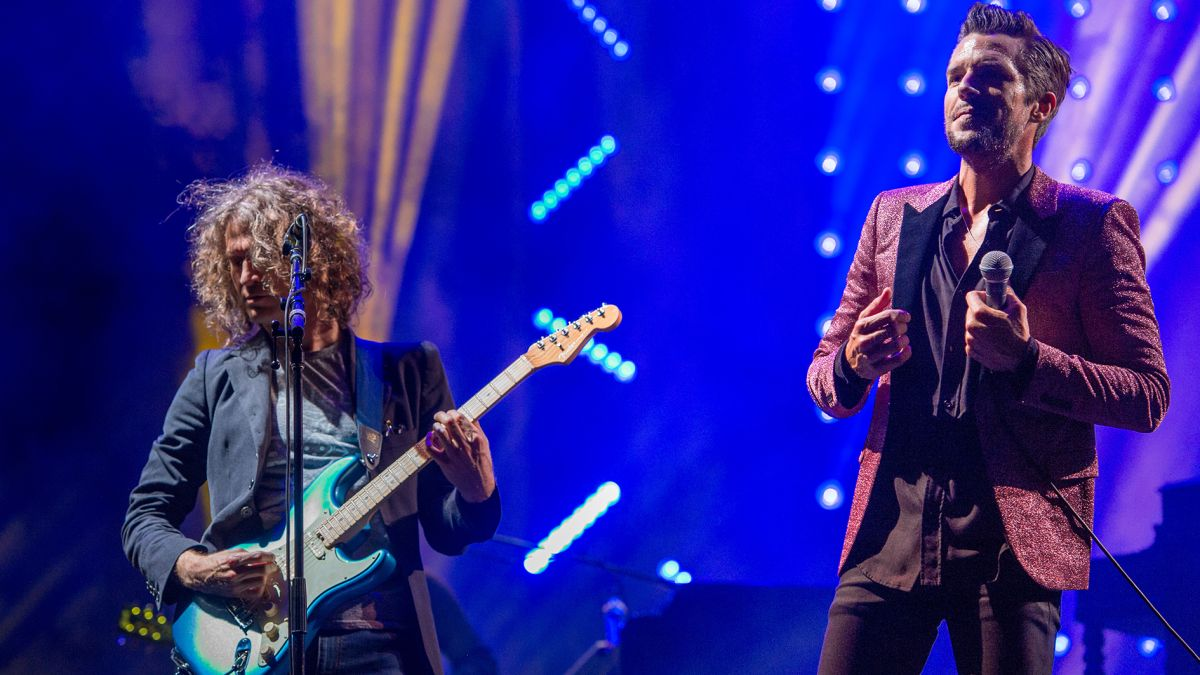 Dave Keuning is back in the studio with The Killers